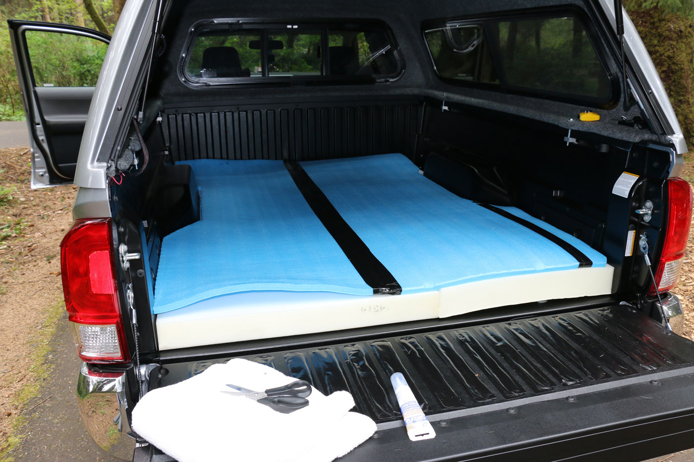 Truck Bed Pad >> April 22 2016 Portland Oregon Getting My Truck Ready
